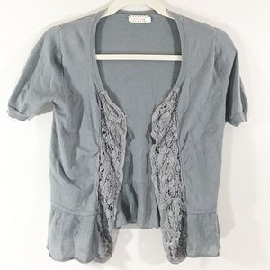 Urban Outfitters pins & needles lace cardigan